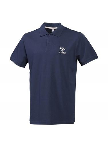 Hummel Erkek Polo Yaka Tişört Leon 911280-7429 Mavi